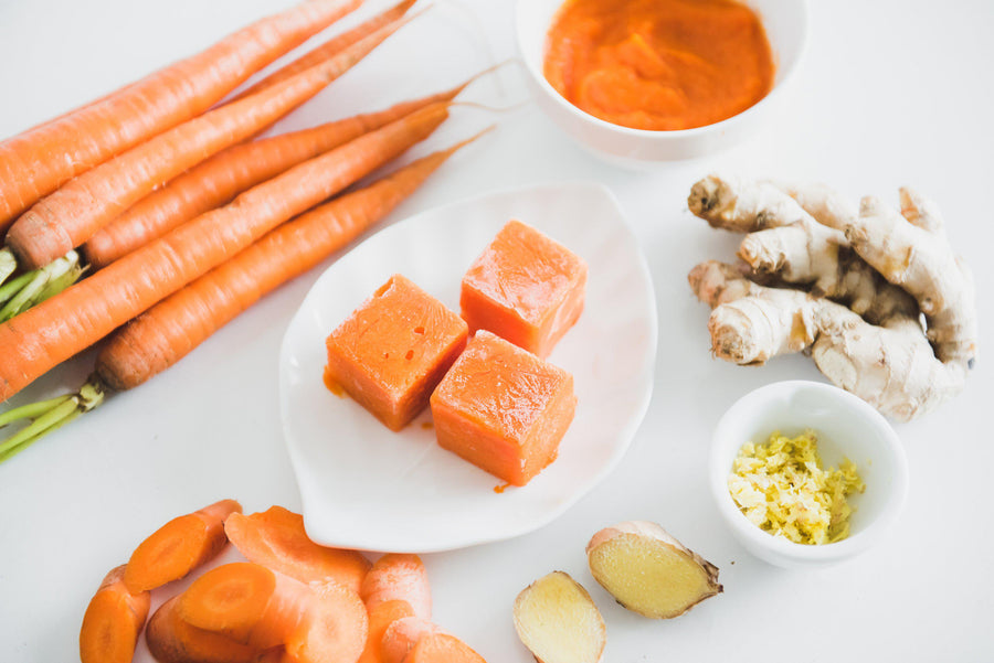 Plant-based baby food