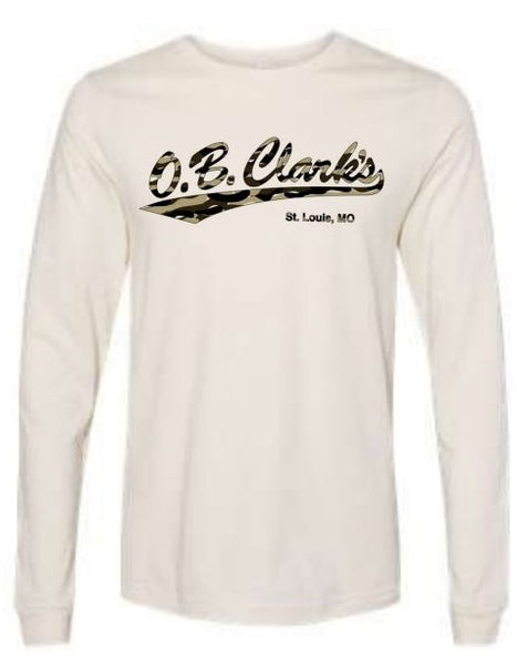 OB Clarks Natural White Camo Long Sleeve