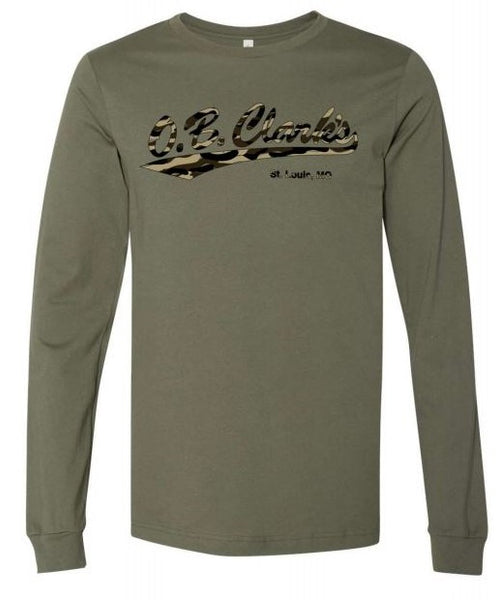 OB Clarks Army Heather Camo Long Sleeve