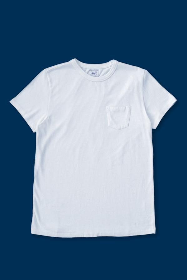 BT-01 Pocket Tee - White - Orpheu Shop