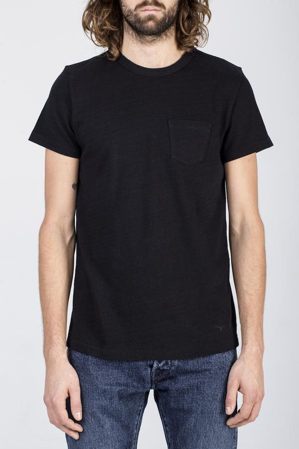 BT-01 Pocket Tee - Black - Orpheu Shop