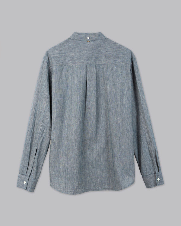 Yoked Chambray Shirt - Orpheu Shop
