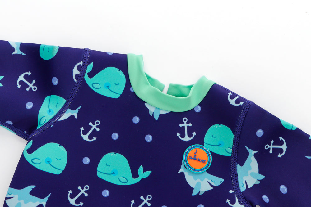 Adorable Nappy Wetsuit For Boys And Girls