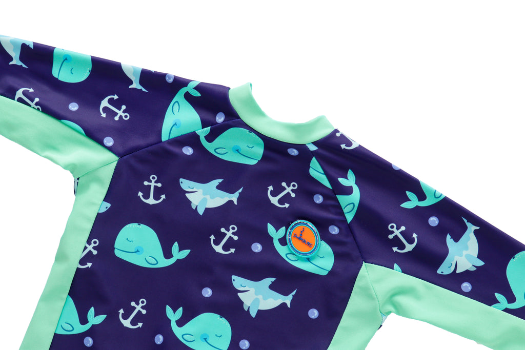 Full Sleeved UV Swim Wear For Kids
