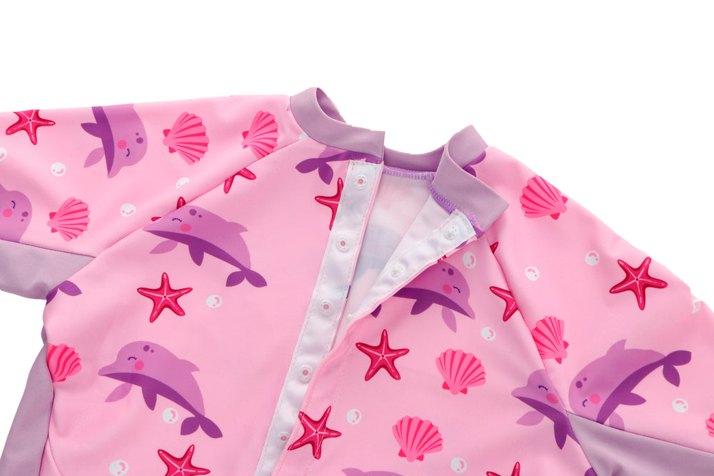 Adorable Designs Of UV Swimsuits With Starfish & Dolphins