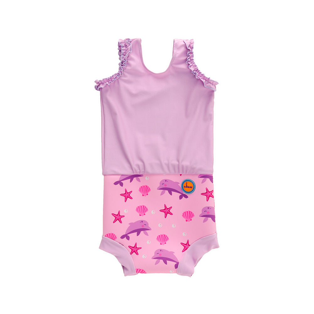 Pink Dolphin Nappy Costume