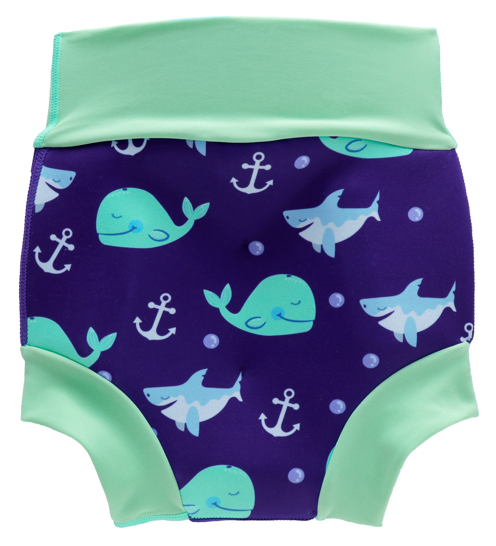 Protective Swim Nappy For Kids In Blue