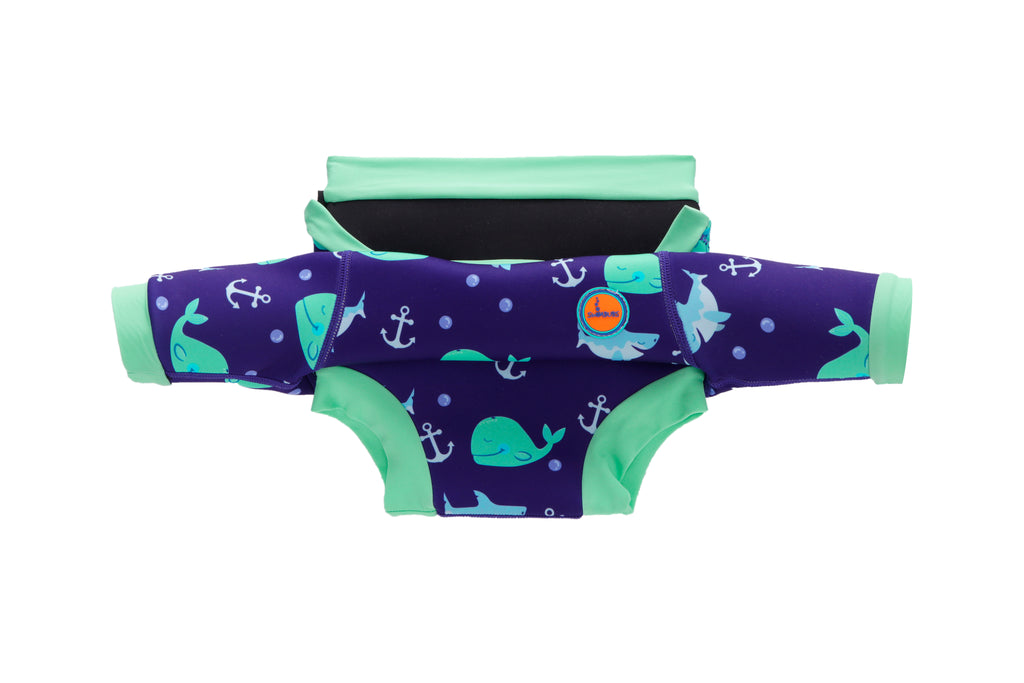 Blue Whale Adjustable Nappy Wetsuit