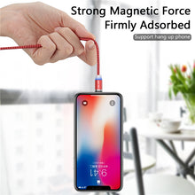 Load image into Gallery viewer, deal deals derrinsdeals derrins fashion usb cable type c phones phone mgnet magnetic charger magnetic lightning iphone charger fast charger fast cord charging charger cable android