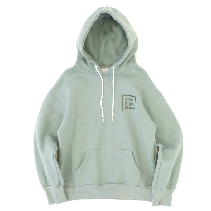 GN001 good night 5tore hoodie green