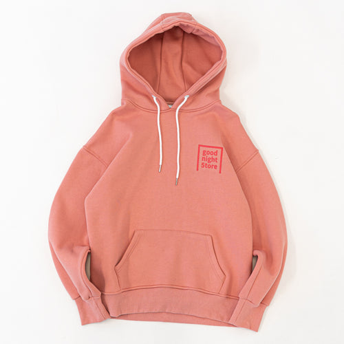 GN003 good night 5tore hoodie pink