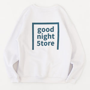 GN007 good night 5tore sweater turquoise
