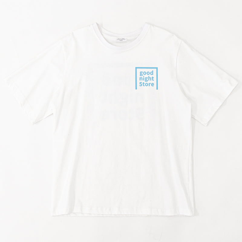 GN011 good night 5tore t-shirt milky blue