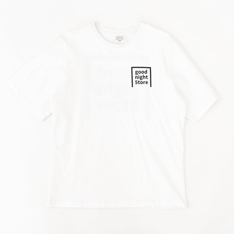 GN010 good night 5tore t-shirt white