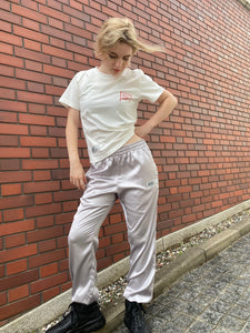 GN015 line pants light gray