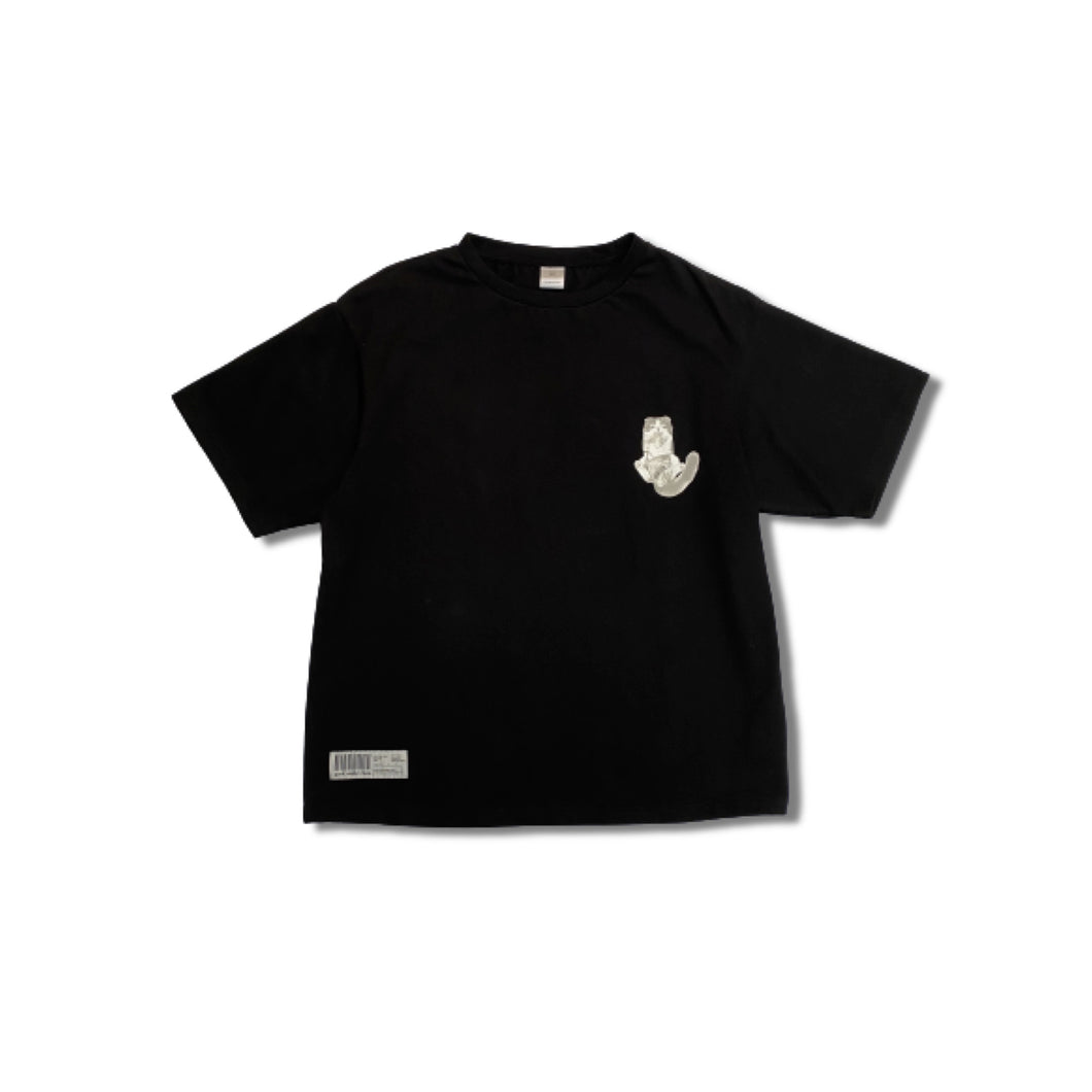 GN024 t-shirt neko-black-mens
