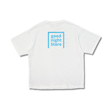 Load image into Gallery viewer, GN043 t-shirt logo-neon blue-mens