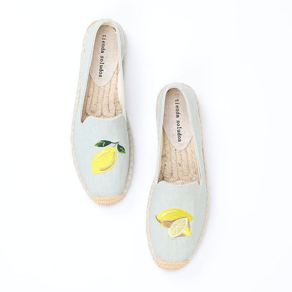 Espadrilles Slip-on Breathable Flat