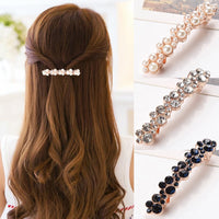 Crystal Pearl Hair Clips Hairpins Hairgrips