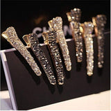 Side Bangs Clip Shiny Alloy Hairpins