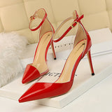 stilettos shallow pointed ultra-high