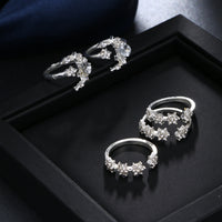 Tiny Crystal Ring 5Pcs/Set