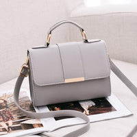 Leather Small Flap Crossbody Bag