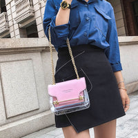 Synthetic Leather Shoulder Purse