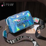 Holographic Mini Square Shoulder Messenger Bags
