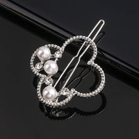 Geometric Metal Hair Accessories