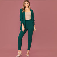 BLAZER AND PANT SET