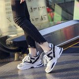 Platform Chunky Sneakers Thick Sole