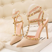 Pointed Cut-Outs heel