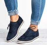 Oxfords Creepers Brogue Lace Up flat
