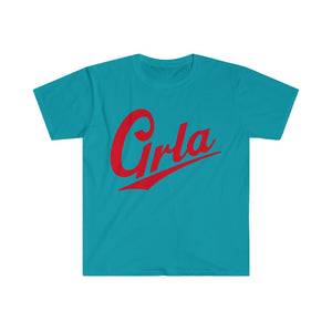 GRLA TIME TEE RED