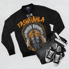 Load image into Gallery viewer, BLACK VIVA YASHARAHLA BOMBER