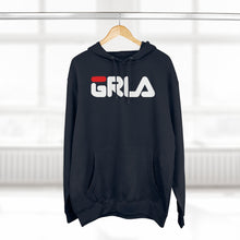 Load image into Gallery viewer, GRLA HOODIE (RED STRIPE)