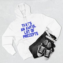 Load image into Gallery viewer, LOTTA PRECEPTS HOODIE (BLUE)