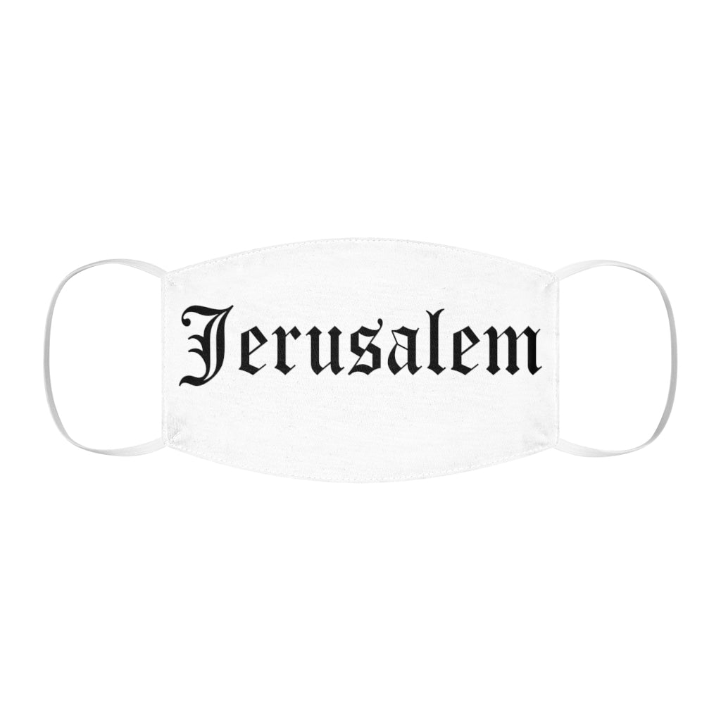 JERUSALEM OLD ENGLISH FACE MASK