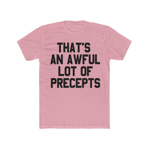 AWFUL LOTTA PRECEPTS TEE (BLK)