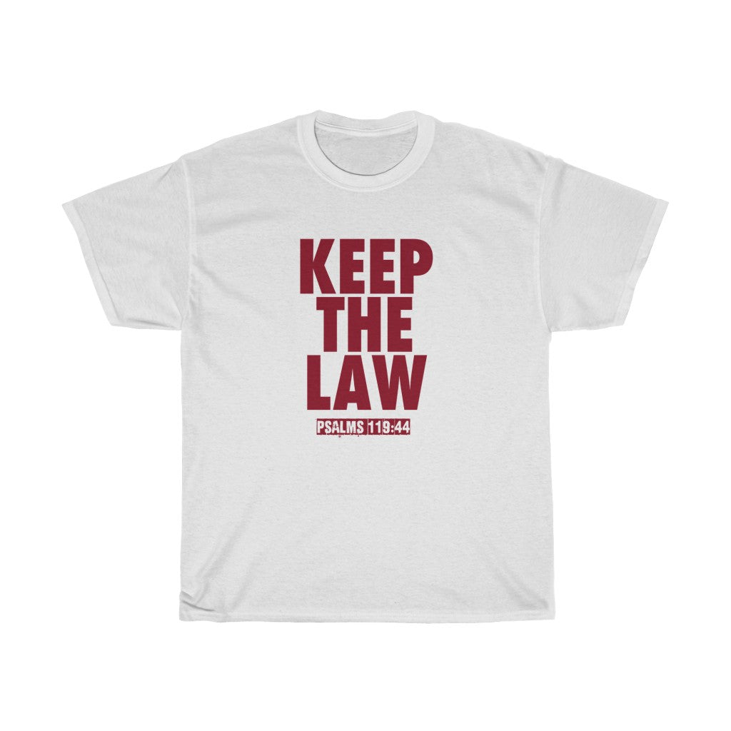 KEEP THE LAW MAROON