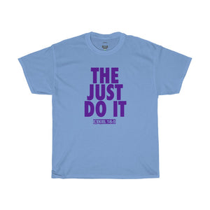 THE JUST DO IT PURPLE