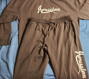 JERUSALEM CREW NECK SWEATSUIT