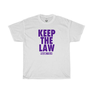 KEEP THE LAW PURPLE
