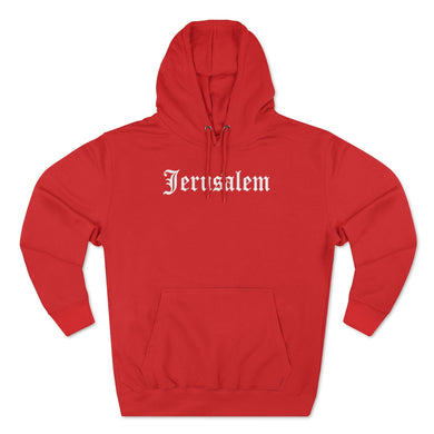 JERUSALEM OLD ENGLISH HOODIE (MULTI COLORS)
