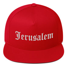 Load image into Gallery viewer, JERUSALEM OLD ENGLISH SNAPBACK