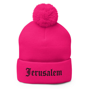 JERUSALEM OLD ENGLISH BEANIE