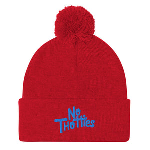 NO THOTTIES BEANIE (BLUE)