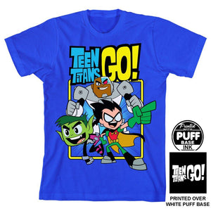 211f1fbadc6f DC Comics - Youth Teen Titans Go Boy s T-Shirt
