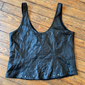 Harley-Davidson Leather Tank Top